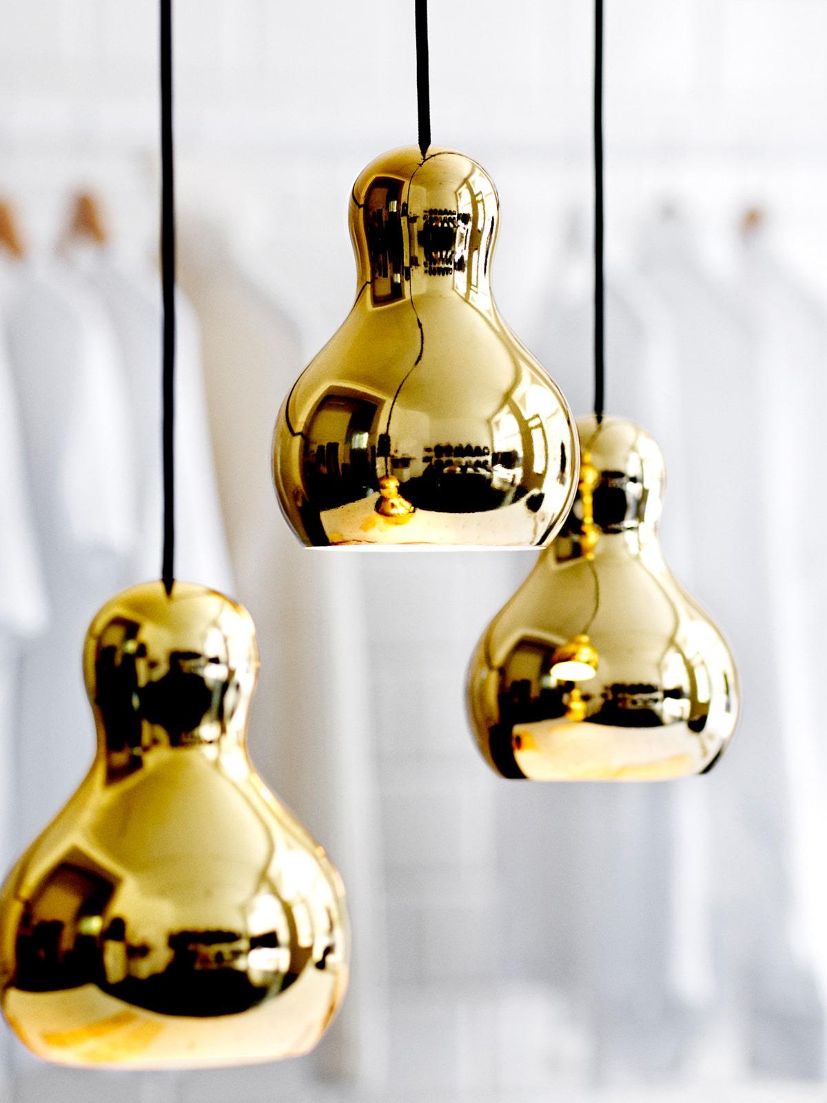 goldene Designerleuchten Calabash Lightyears DesignOrt Onlineshop