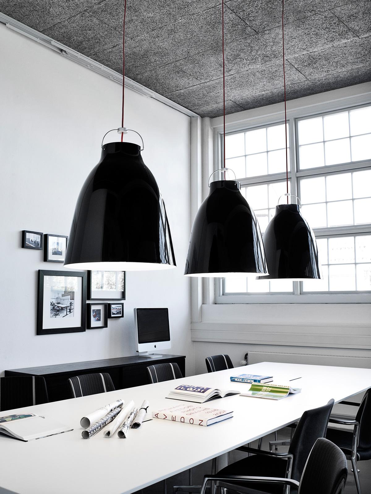 Republic of Fritz Hansen Caravaggio Black Leuchten DesignOrt Onlineshop Leuchten