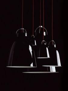 Design Leuchten Caravaggio von Cecilie Manz lackiert