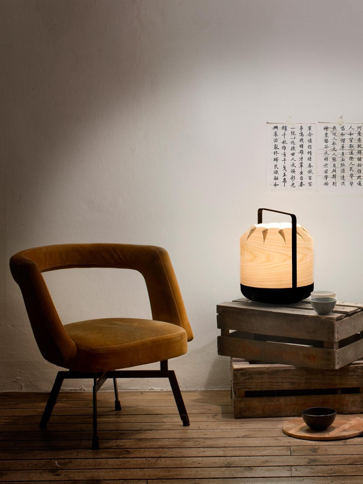 DesignOrt Blog: Asiatisches Design trifft Europa Chou Leuchte von LZF Lamps