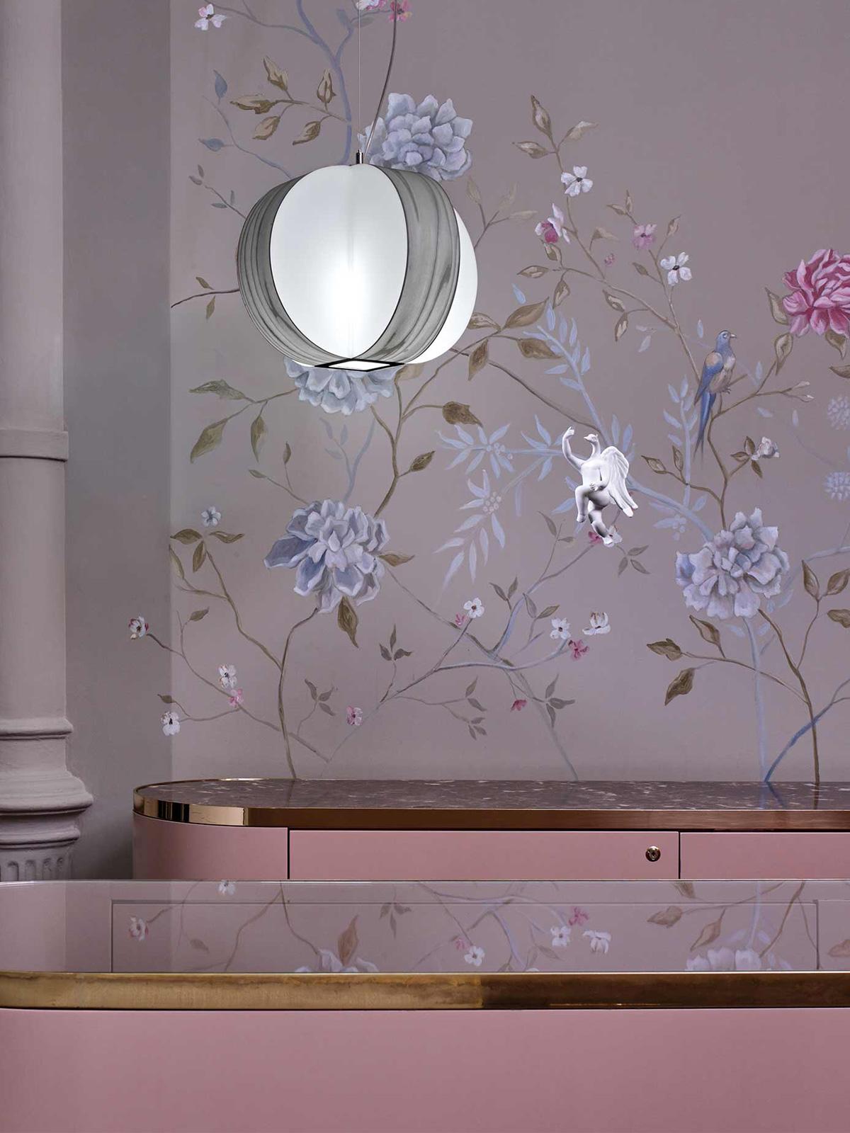 DesignOrt Blog: Faszination Farbe: Holzfurnier von LZF Lamps Pendelleuchte Carambola