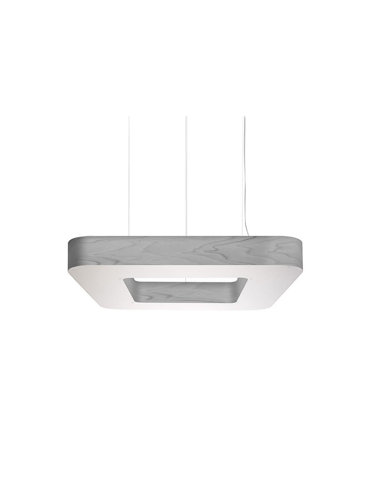LZF Pendellampe Cuad Furnierholz Lampe Designort