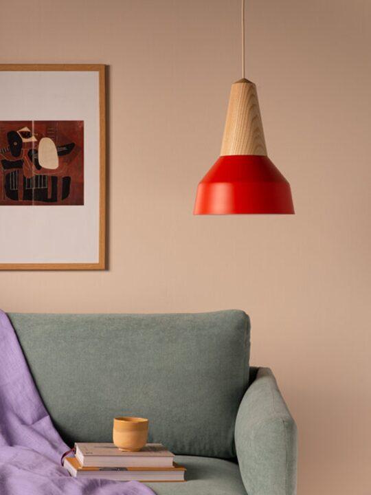 Schneid Eikon Basic Poppy Red Leuchte DesignOrt Onlineshop Lampen Berlin