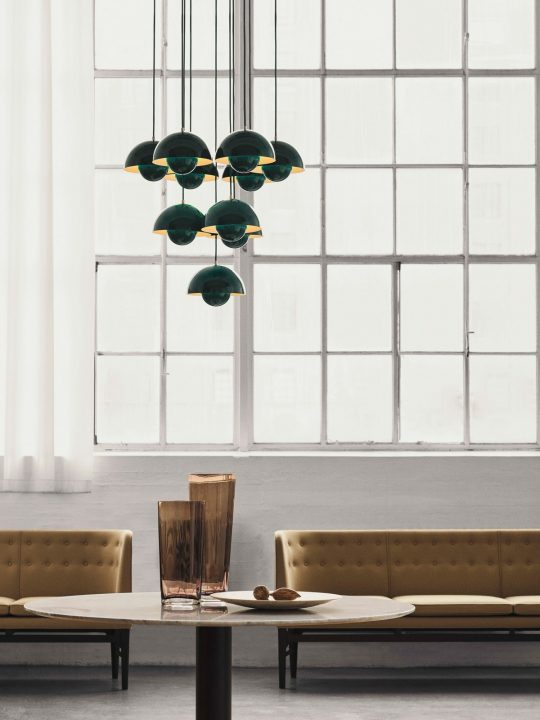Flowerpot VP 1 Grün &tradition Designerleuchte DesignOrt Onlineshop Lampen Berlin