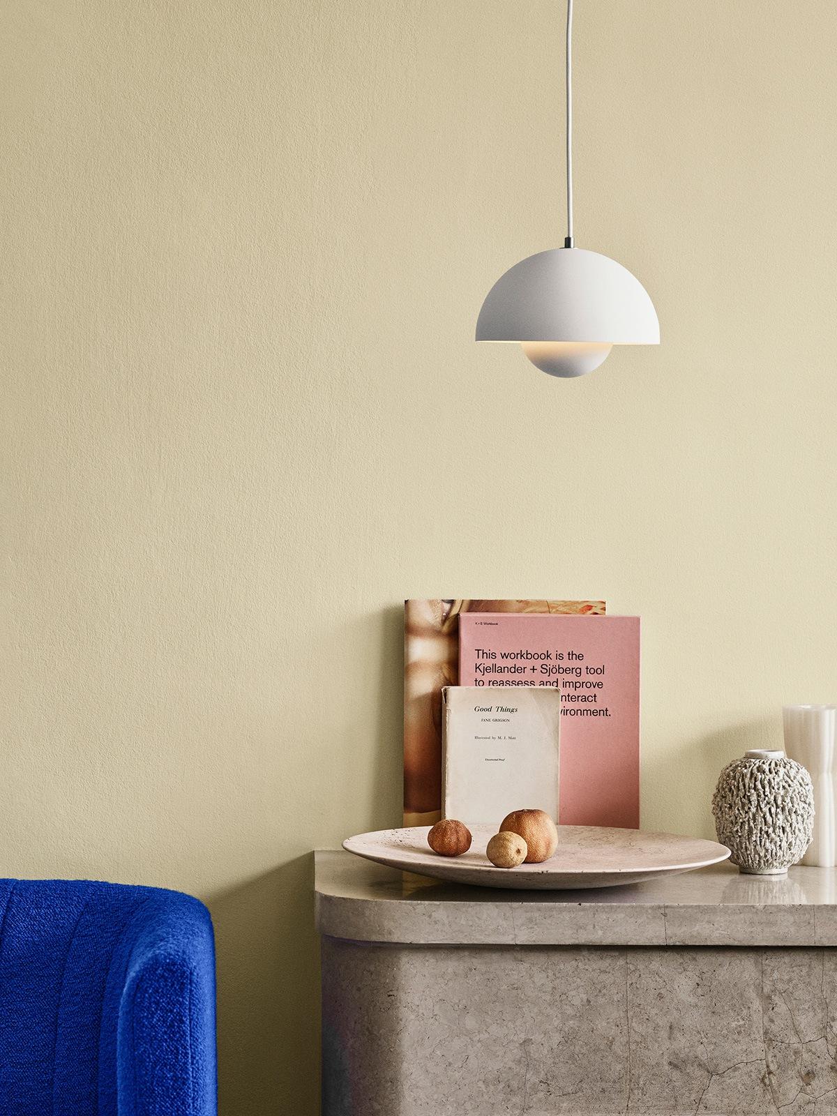Flowerpot VP 1 Mattweiß &tradition Designerleuchte DesignOrt Onlineshop Lampen Berlin