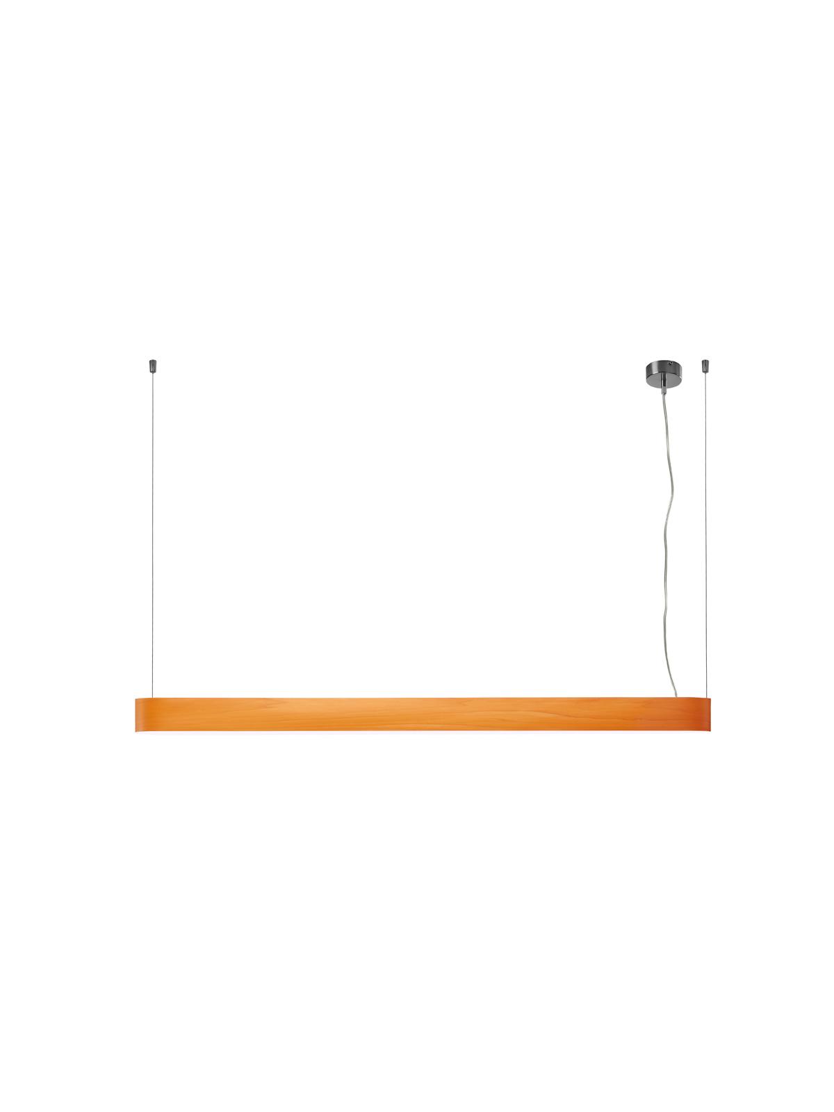 I Club lange Leuchte LZF Lamps Orange