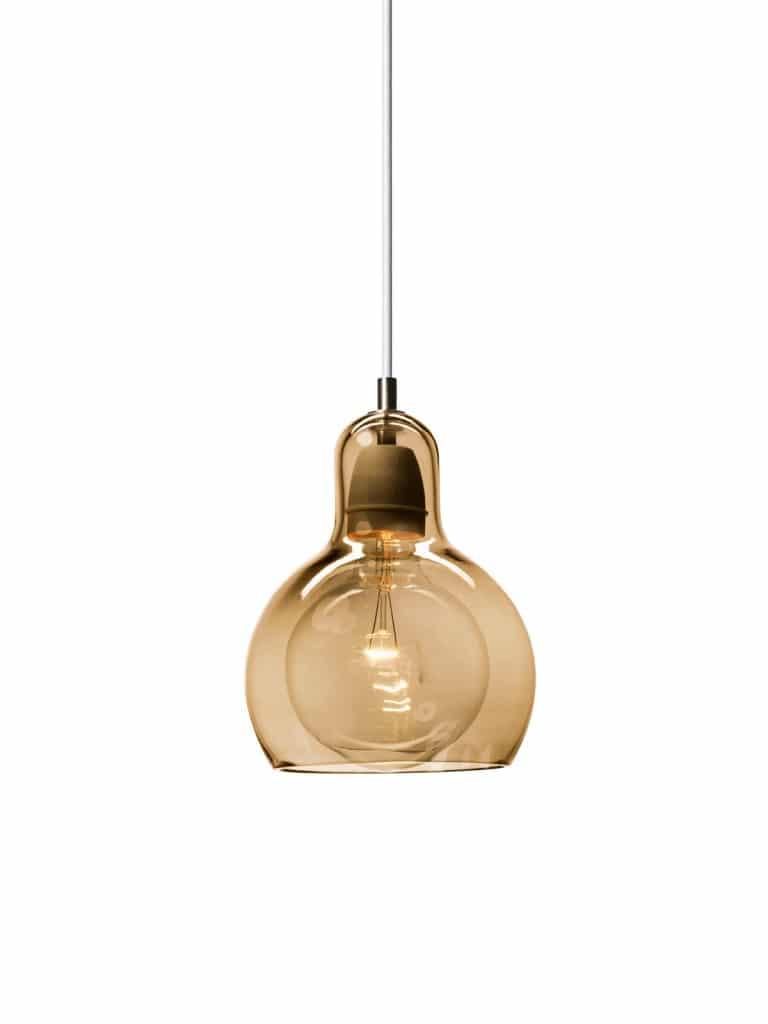 Lampe MEGABULB GOLD für Farbideen im RAum