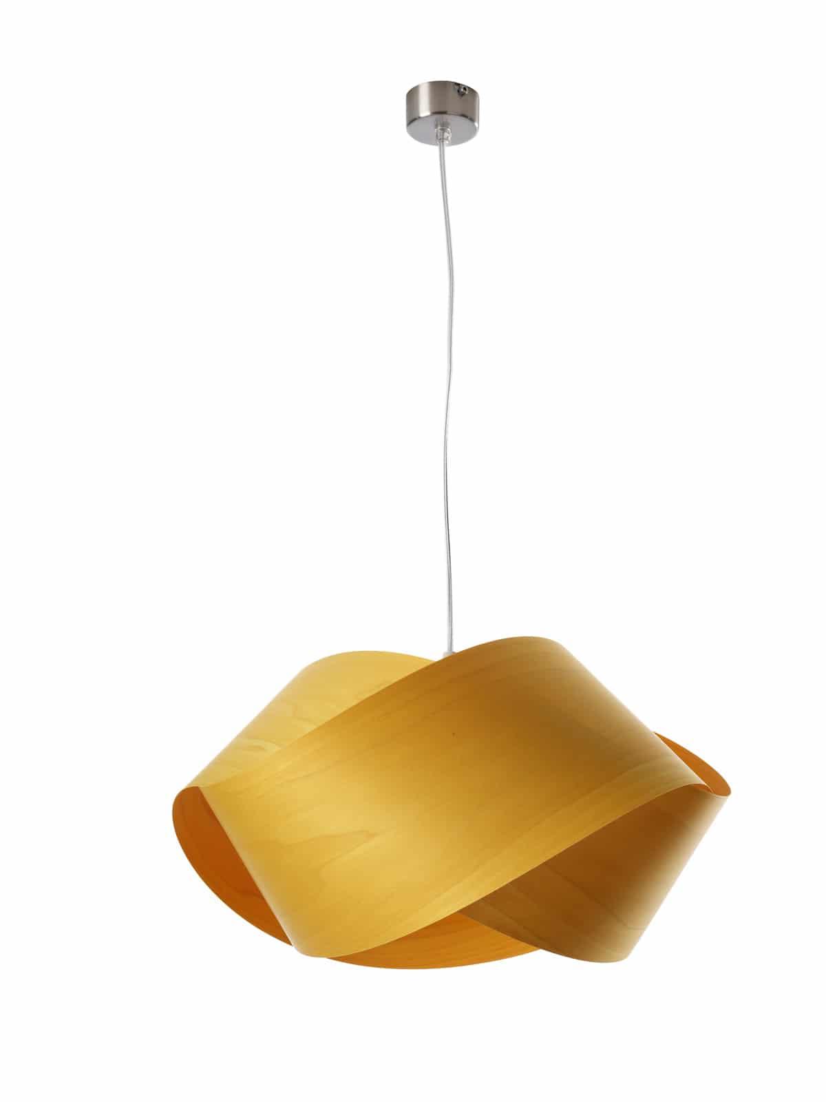 Pendelleuchte NUT in gelb