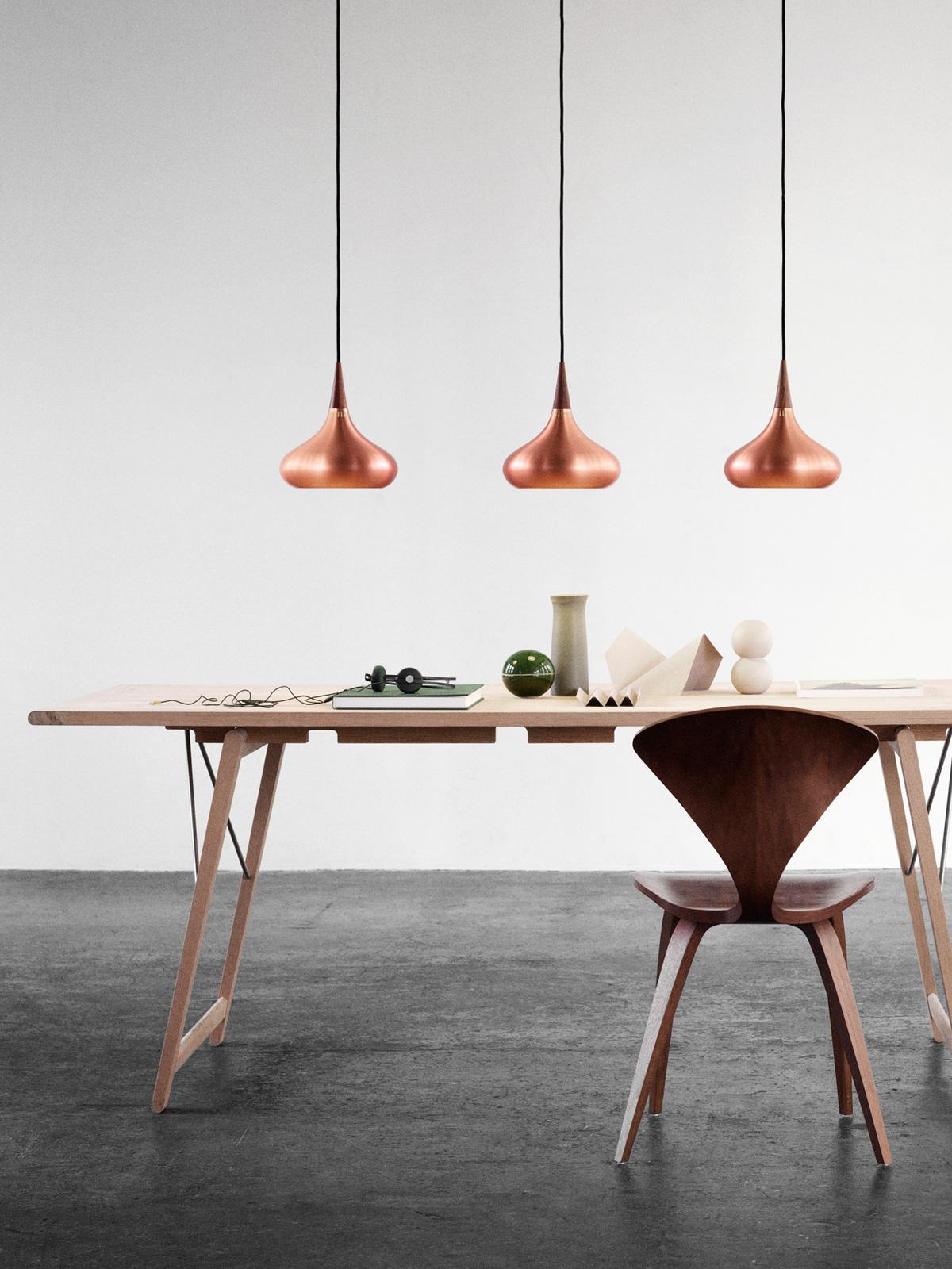 DesignOrt Blog: Designer im Portrait Jo Hammerborg Orient Pendelleuchte Kupfer