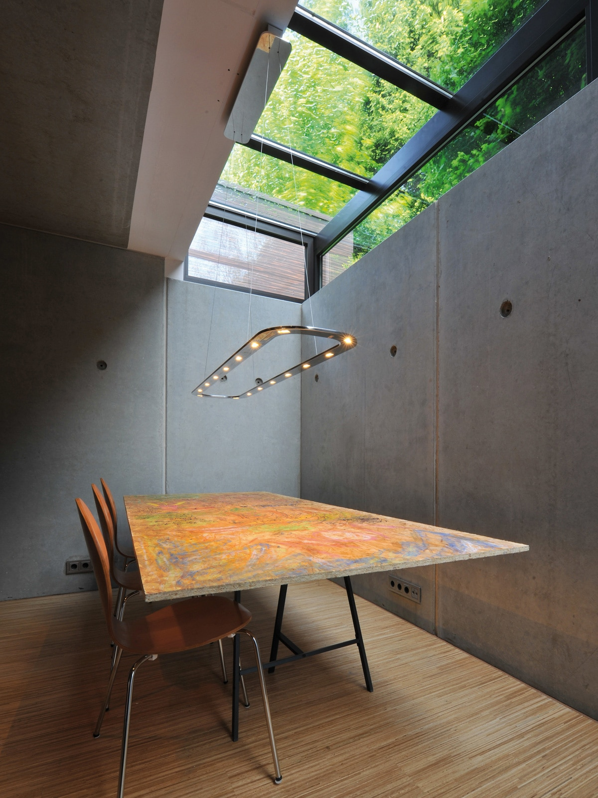 DesignOrt Blog: Trend: Silberne Designerleuchten BYOK Piani Lungo Downlight LED