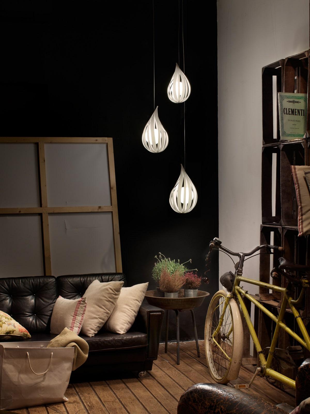 DesignOrt Blog: tropfenförmige Leuchten Raindrop LZF Lamps