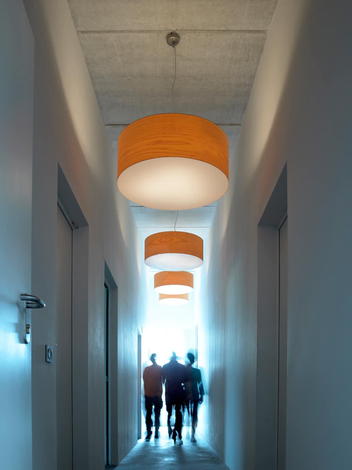 DesignOrt Blog: Trommelförmige Designerleuchten Pendelleuchten Super Gea LZF