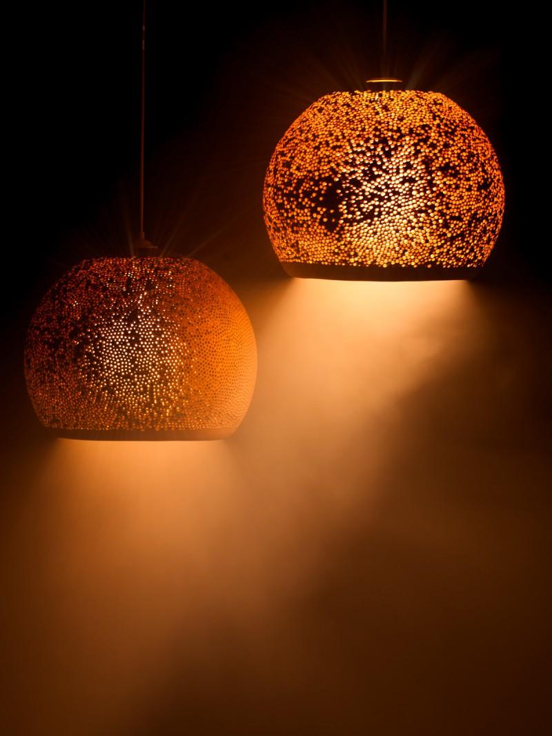 Spongeup rot lampen leuchten designerleuchten berlin for Licht lampen leuchten