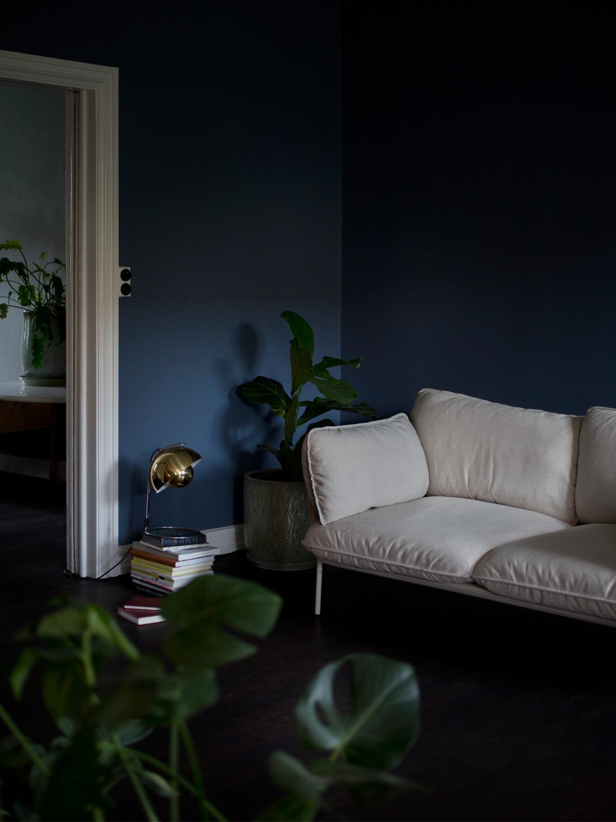 DesignOrt Blog: Messingleuchten Flowerpot VP4 Messing im Raum