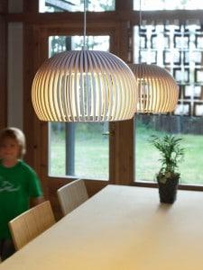 ATO-5000-DECO Formholz Leuchte