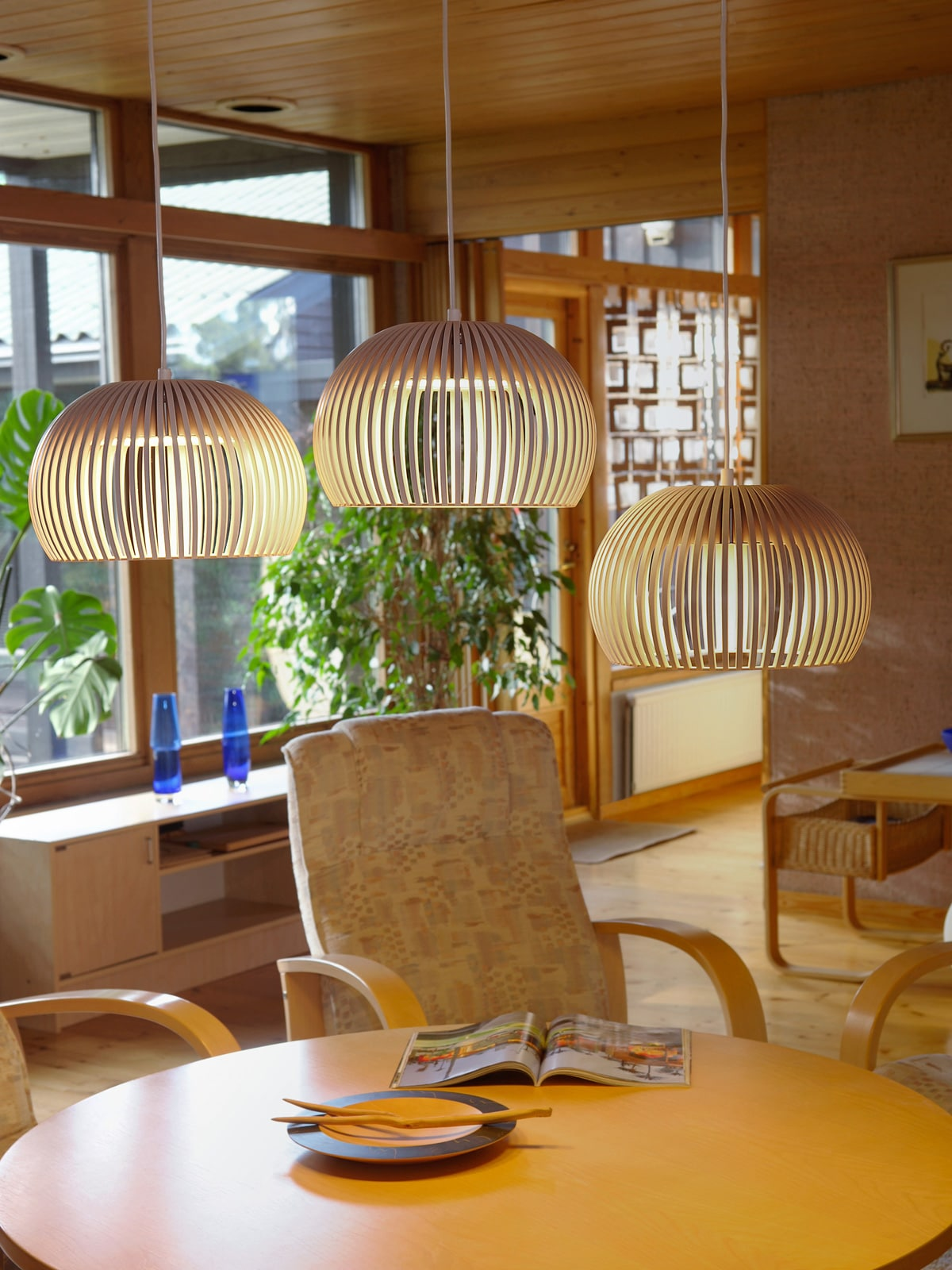 designerleuchten aus naturmaterialien lampen leuchten. Black Bedroom Furniture Sets. Home Design Ideas