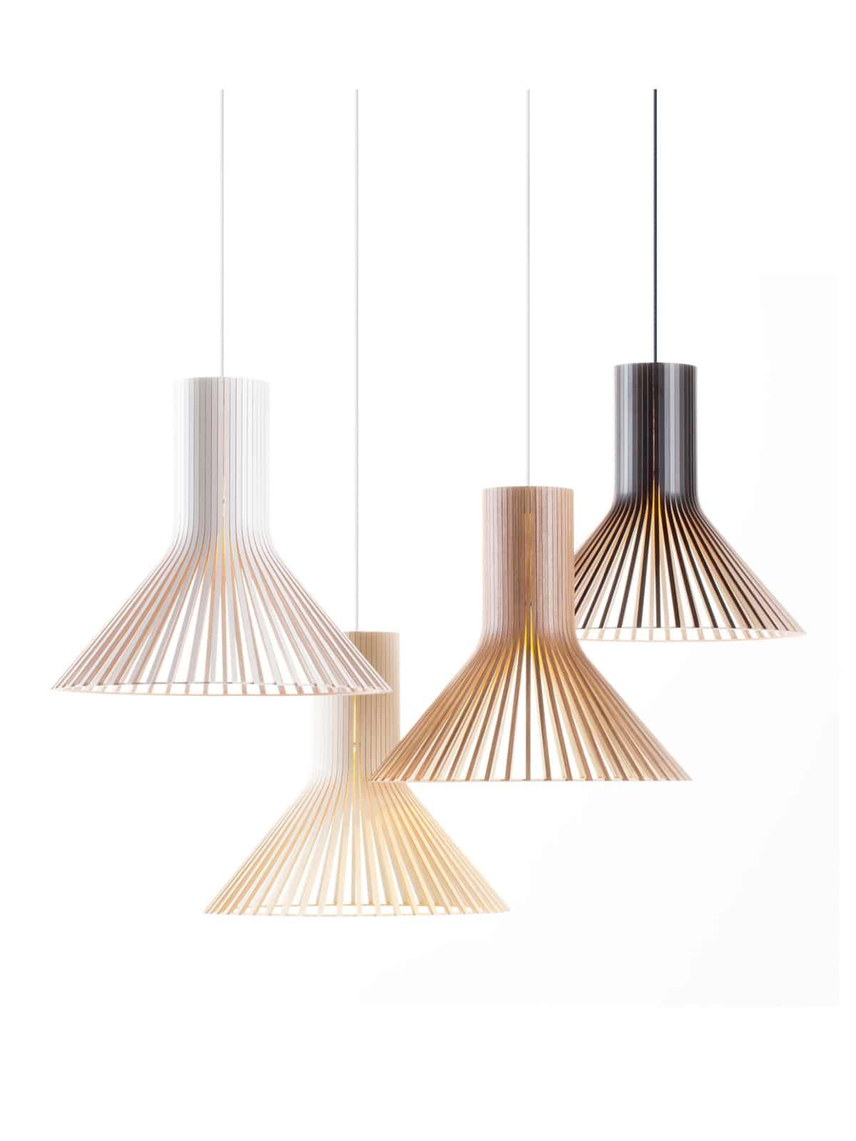 Secto Puncto 4230 Holzleuchte DesignOrt Lampen Onlineshop Berlin