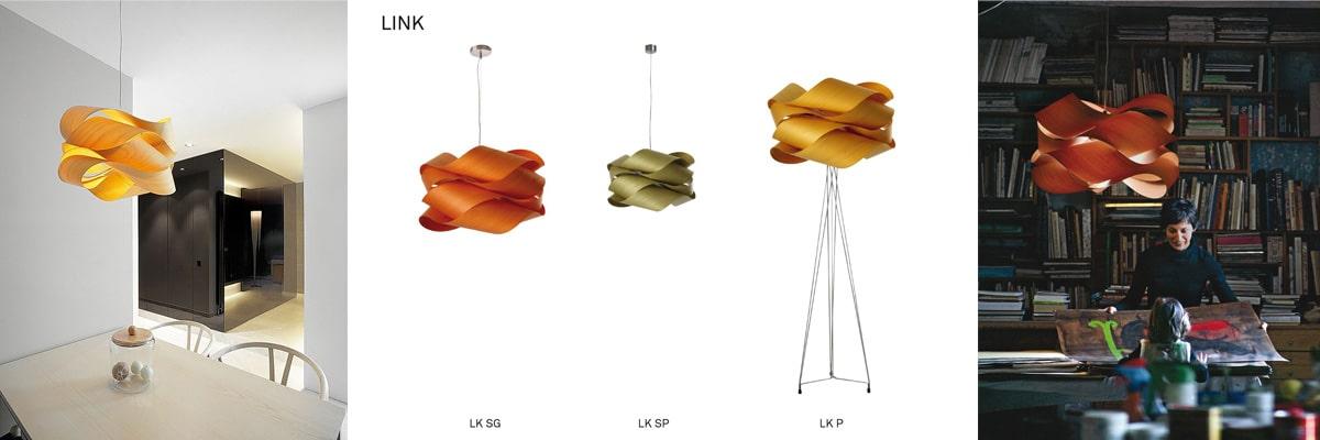 link LZF Lamps Design aus Holz
