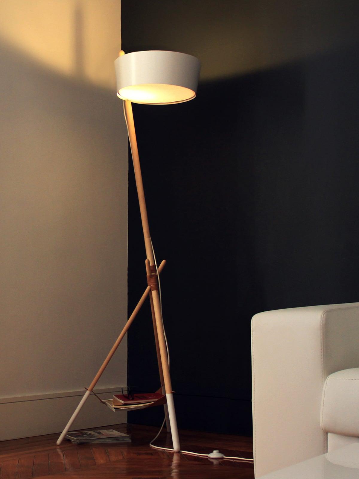 Designerleuchten aus nachhaltiger Produktion KA LAMP von Woddendot