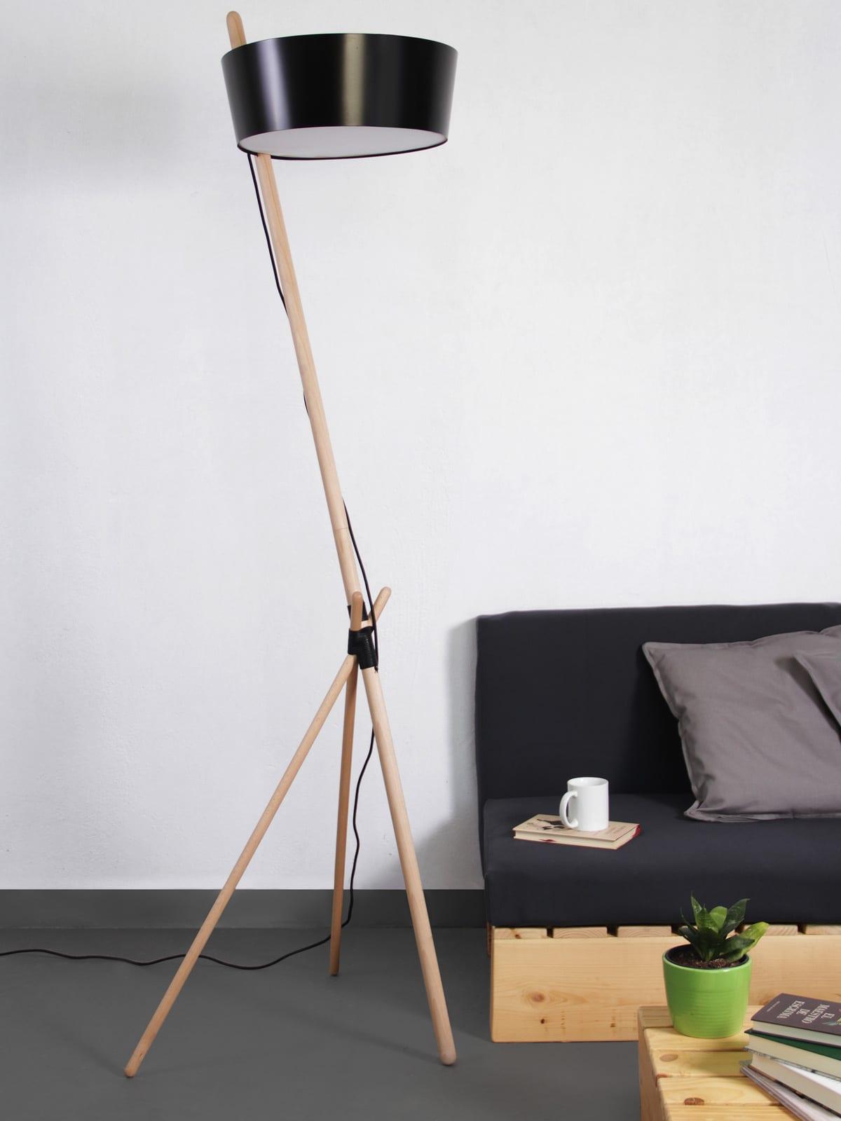 DesignOrt Blog: Dreibeinige Designerleuchten KA Lamp XL