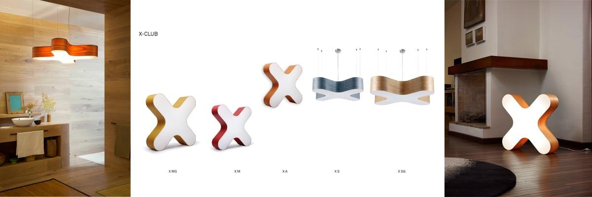 Designleuchten LZF X-CLUB
