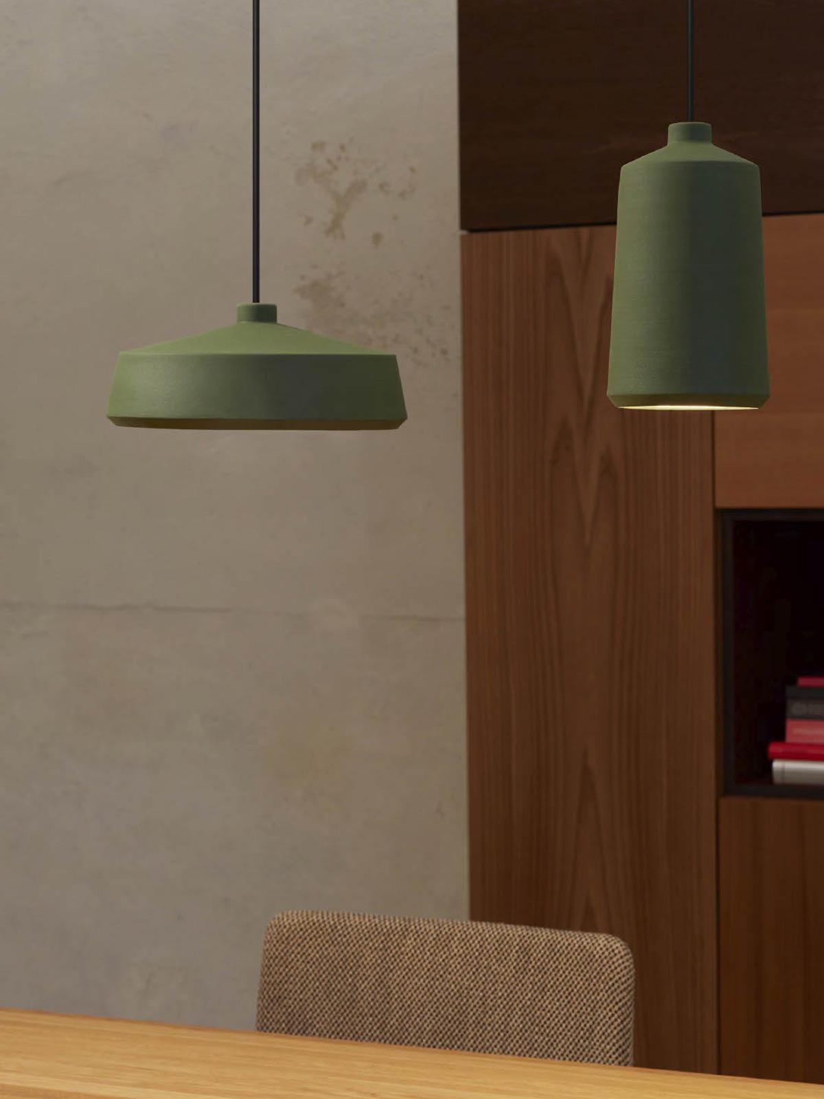Keramikleuchten Pott Designort Lampen
