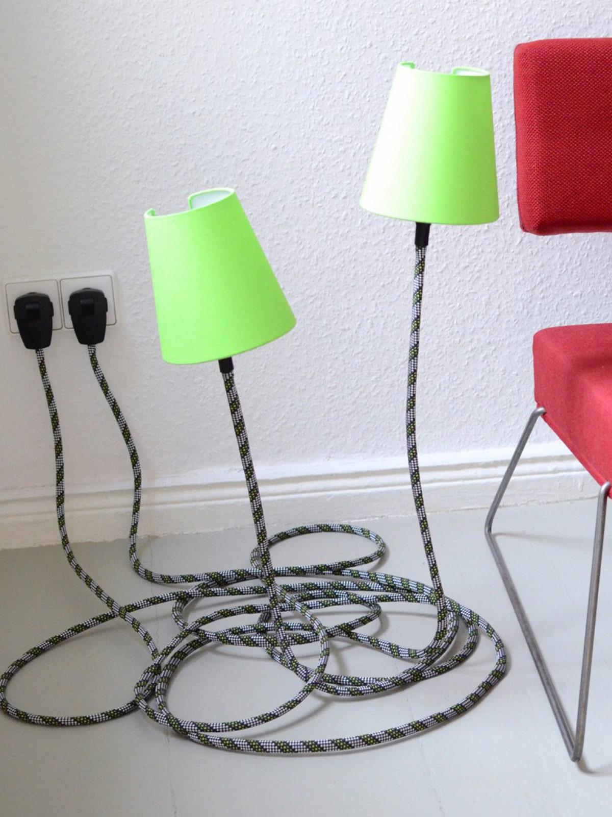 DesignOrt Blog: Trend: Bodenleuchten Climbing Lamp von Son of Nils
