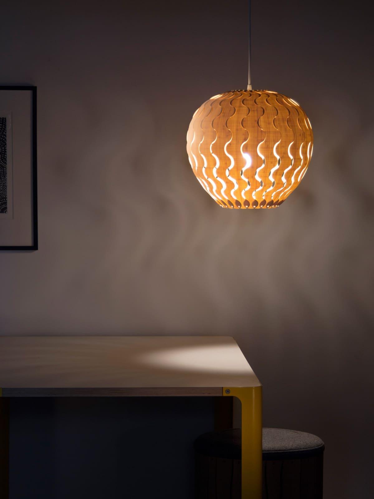 DesignORt Blog: Bell glockenförmige Designerleuchten Belle von David Trubridge