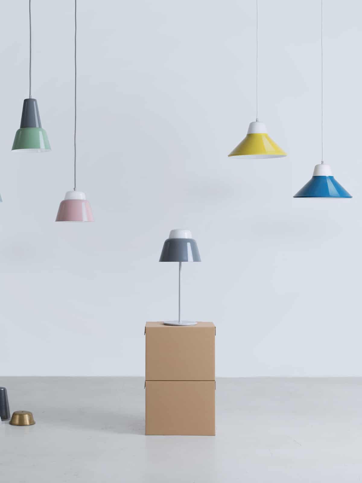 Deckenlampe MODU von TEO europe