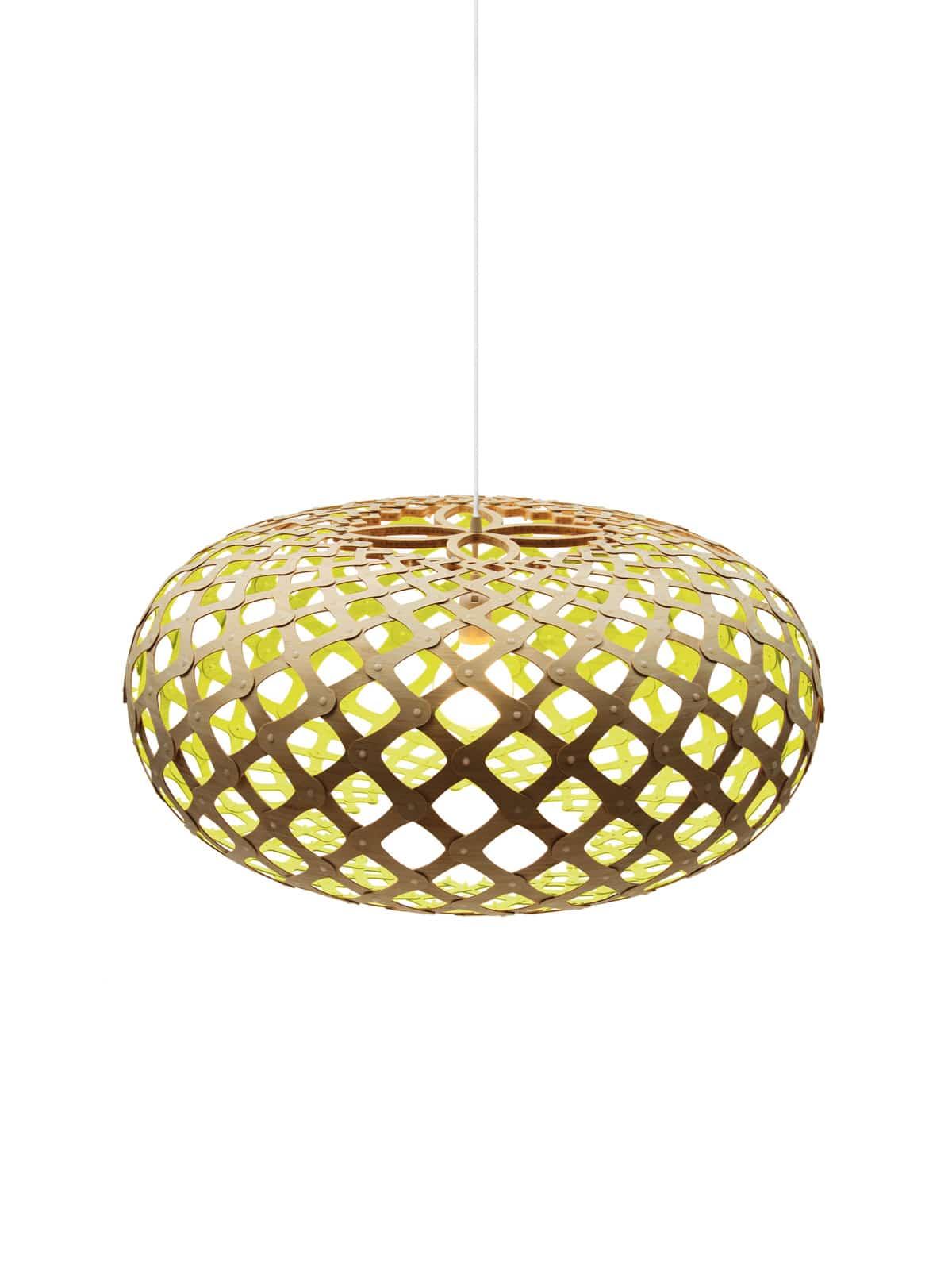 Kina Lampe für Farbideen und Konzepte in Gelb