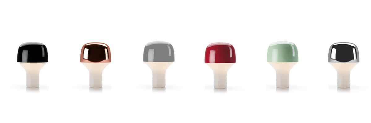 Die modernen Leuchten TEO-ETANO-CAP