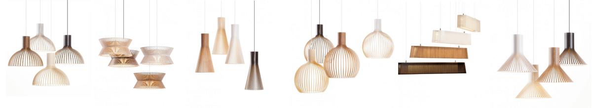 secto design Formholz Leuchten