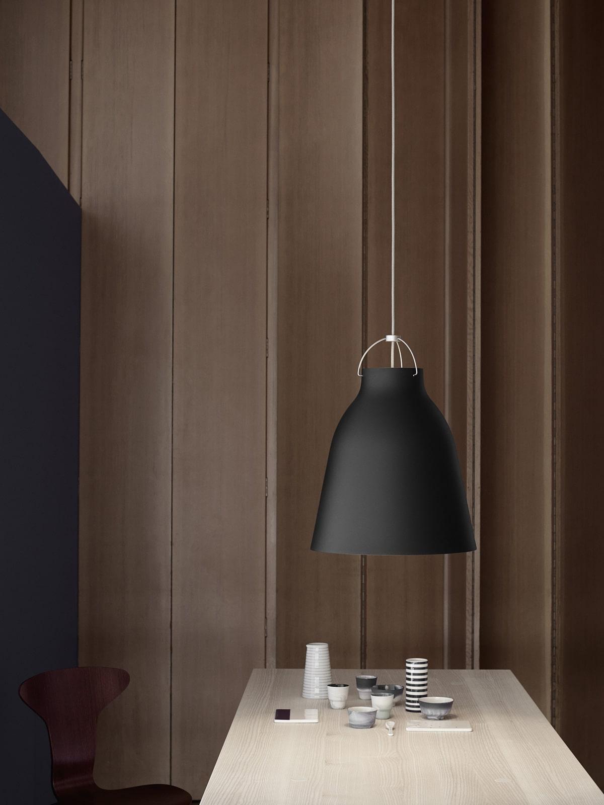 DesignOrt Onlineshop Lampenladen Berlin Lightyears Caravaggio black matt