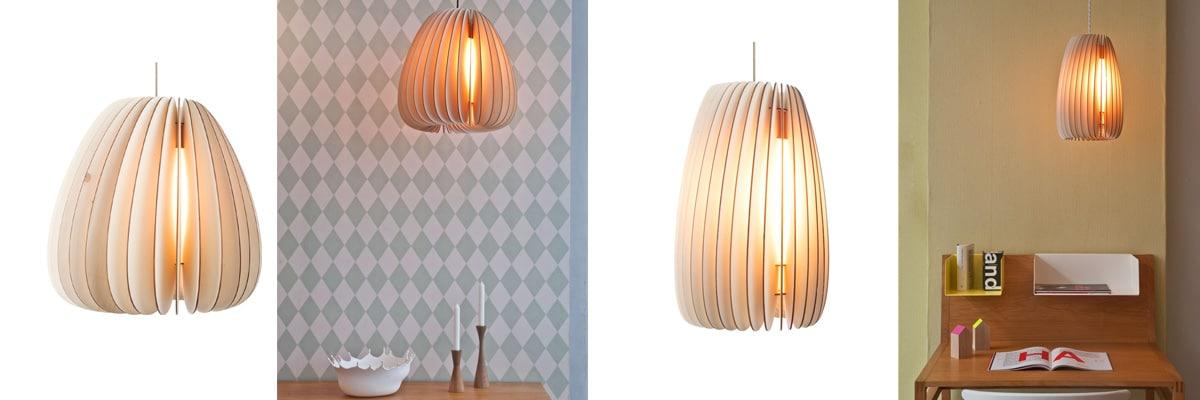 Skandinavisches Design Pendelleuchte Schneid Volum