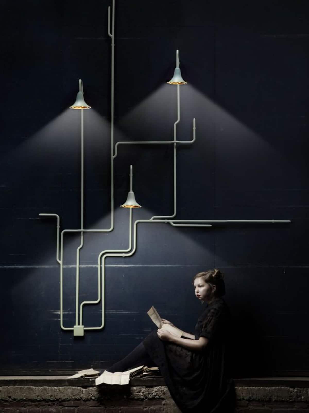Dreiflammige Designerleuchten online kaufen DesignOrt Onlineshop Berlin OD1