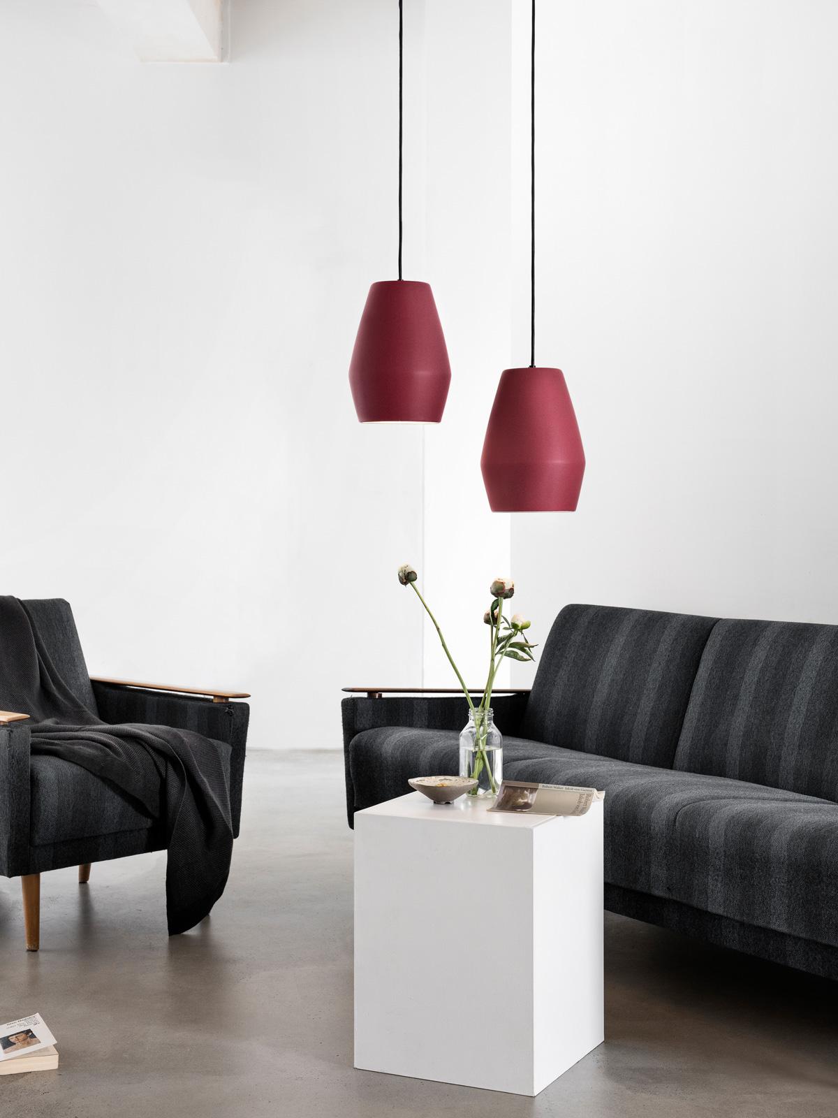 DesignOrt BLog: Designerleuchten in Rot