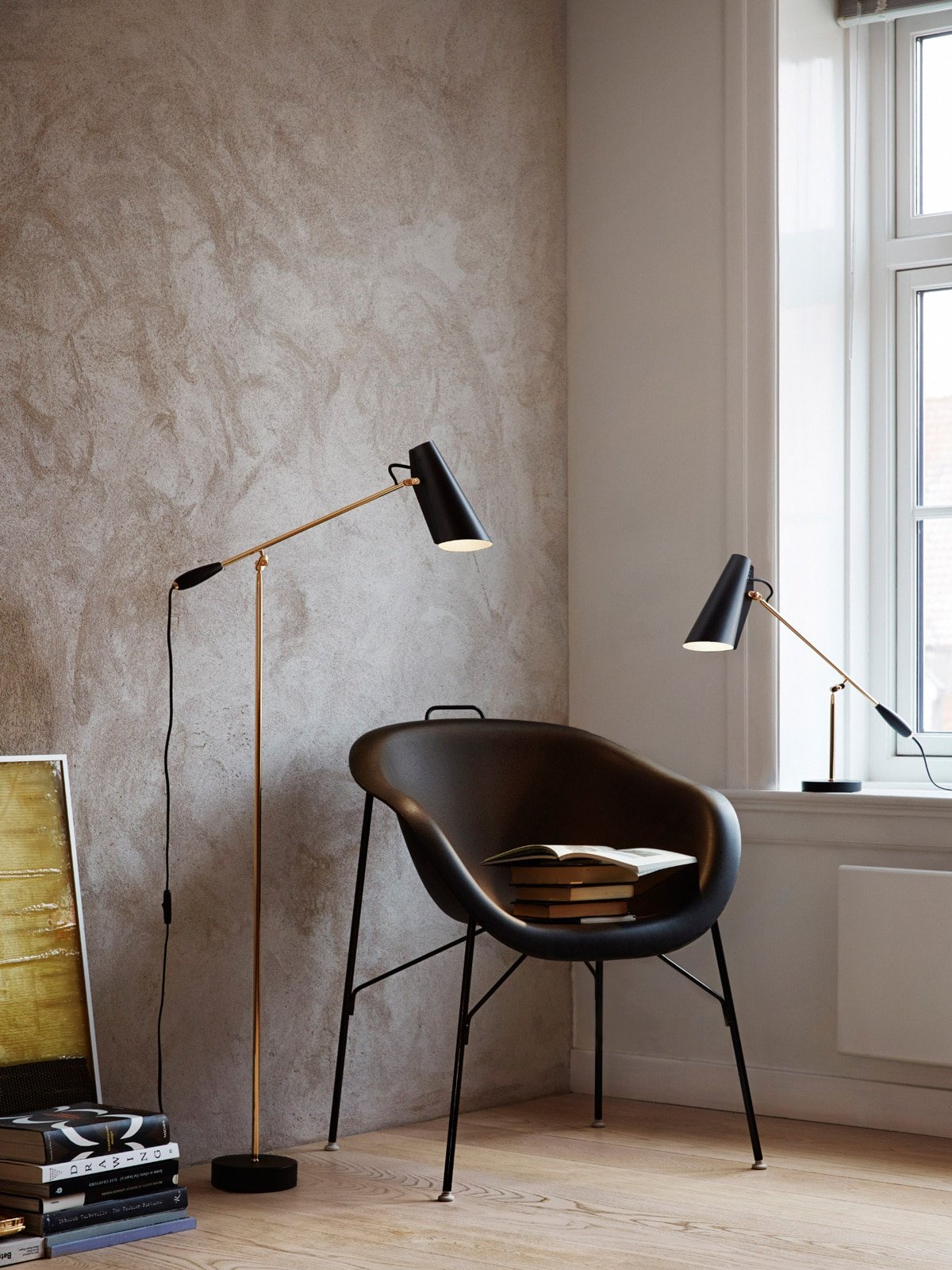 DesignOrt Blog Best of - Birdy Stehleuchte und Tischlampe Northern Lighting Birger Dahl