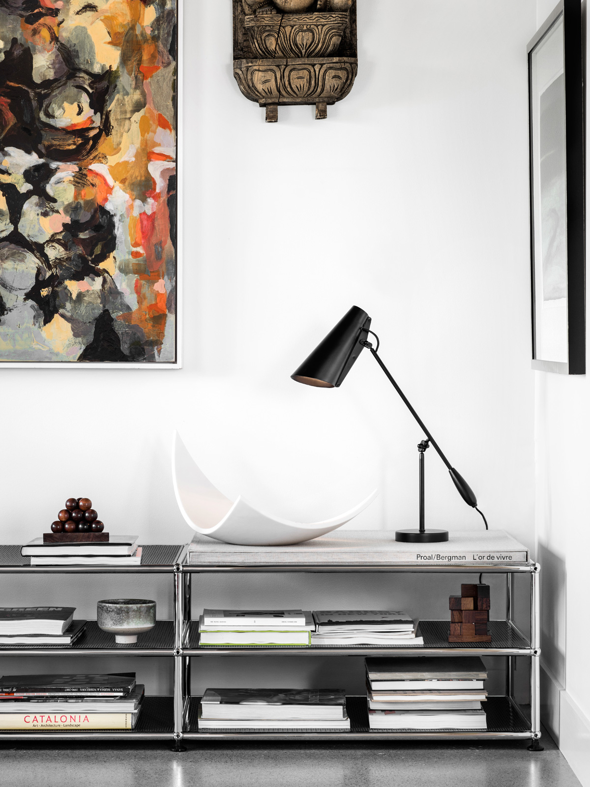 Leseleuchte Birdy Table Neu in all Black