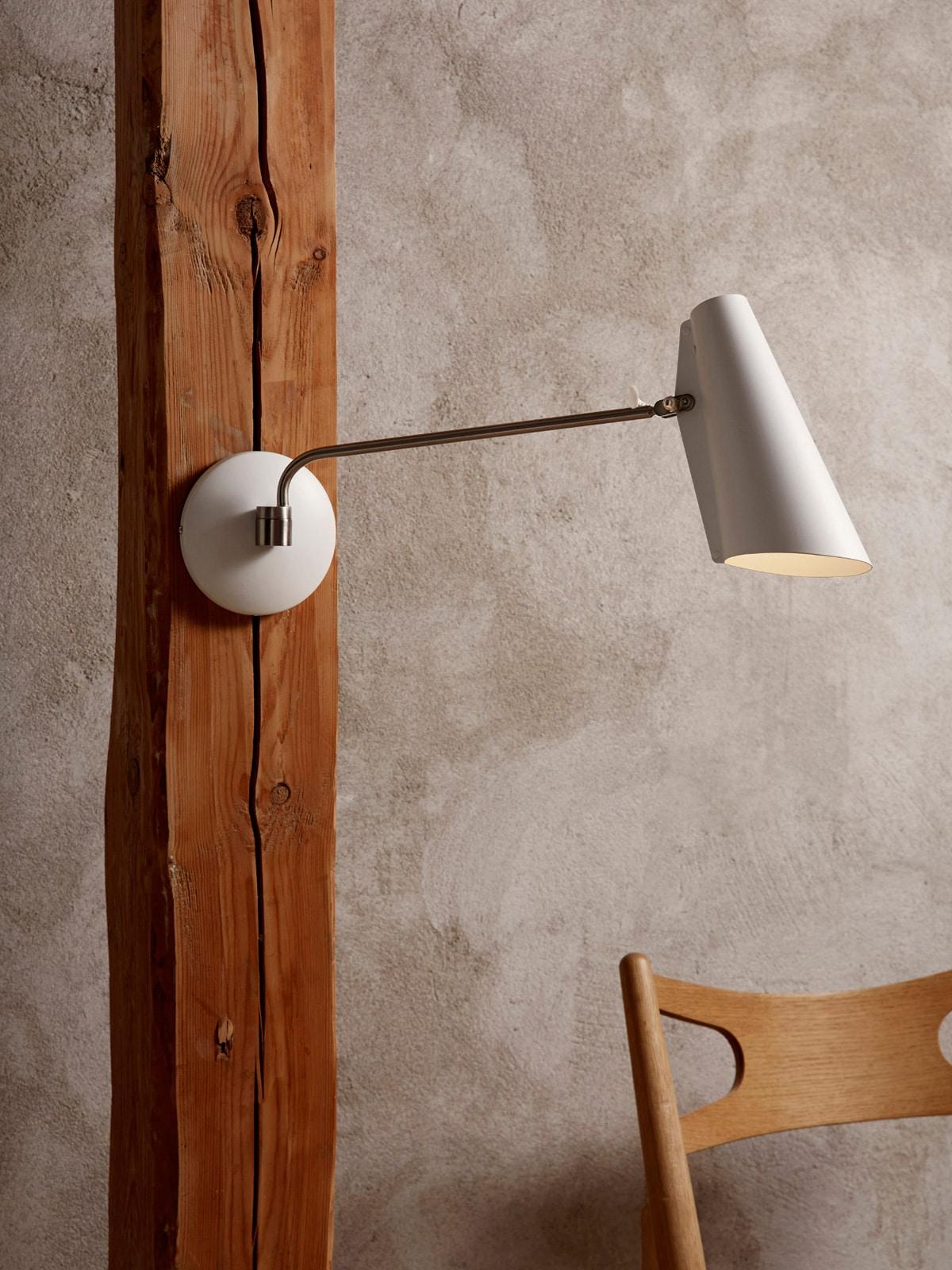 Birdy Wandleuchte mit langem Arm Northern DesignOrt Lampen Onlineshop Berlin