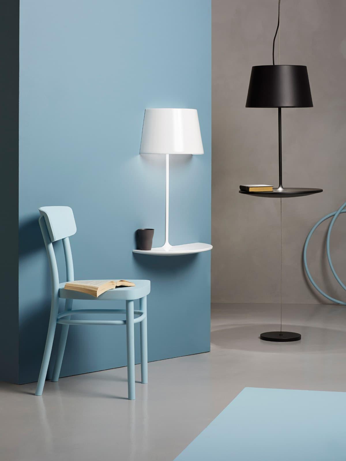 designerleuchten mit ablage bei designort lampen leuchten designerleuchten online berlin design. Black Bedroom Furniture Sets. Home Design Ideas