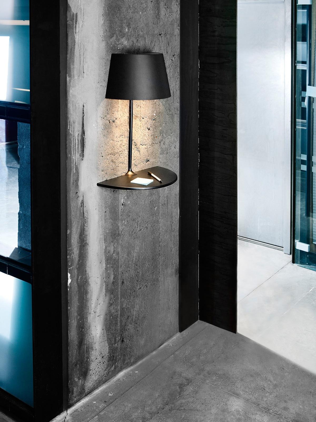 Designlampe für Wand: Northern Lighting Illusion
