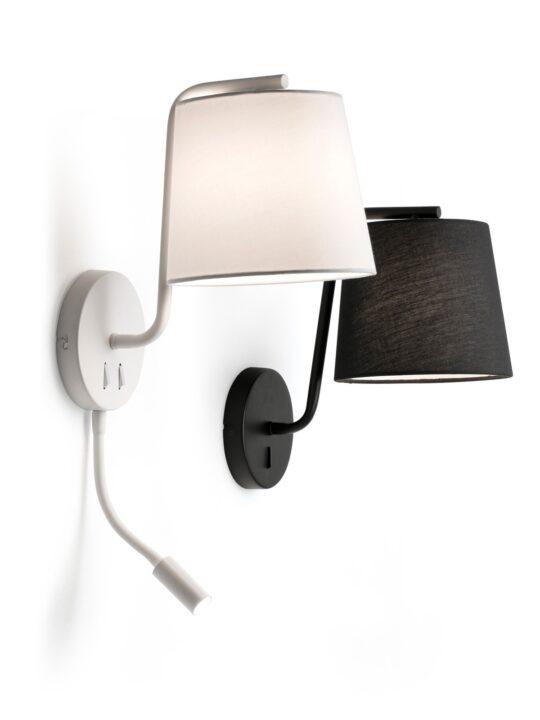 Faro Wandlampen Berni Textilschirm Designort Onlineshop Lampen