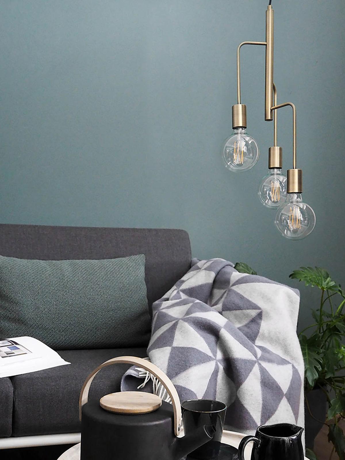 DesignOrt Blog: Trend: Nackte Glühbirne Cool Pendel Frandsen
