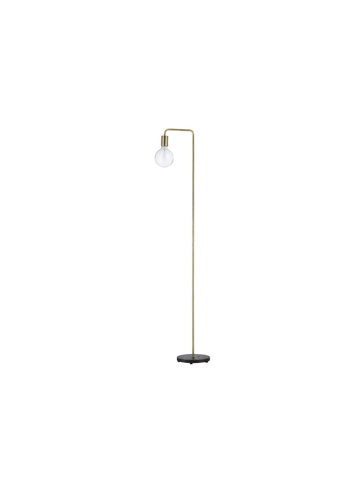 einfache Stehlampe mit Glühbirne Cool Frandsen