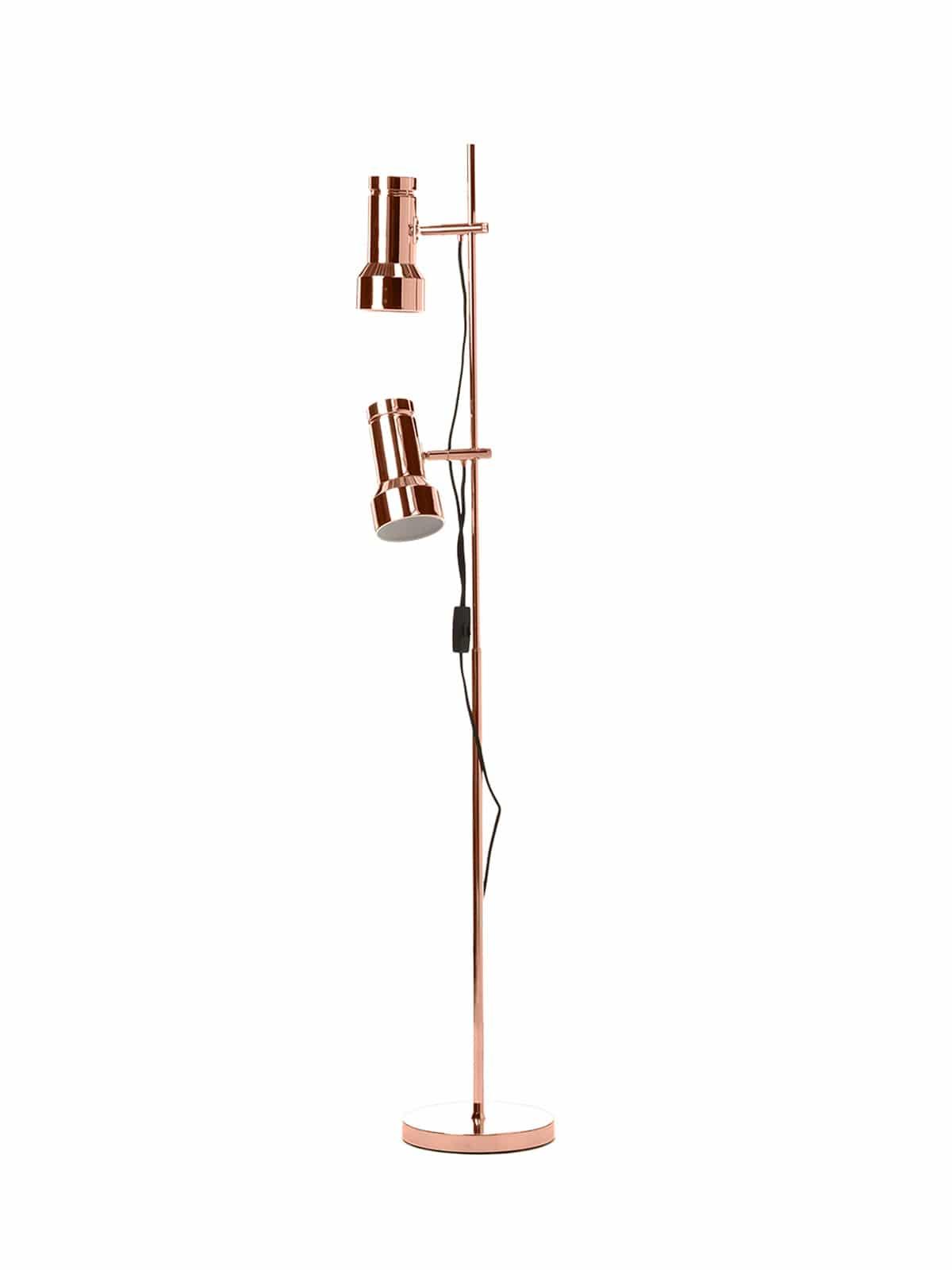 Klassik Stehlampe von Frandsen in Messing