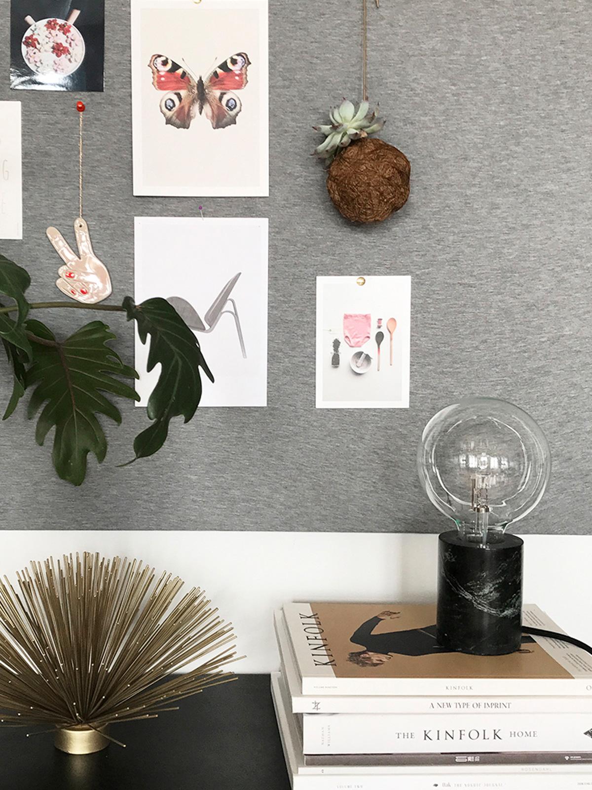 DesignOrt Blog: Trend: Nackte Glühbirne Tischlampe Bristol Tisch von Frandsen