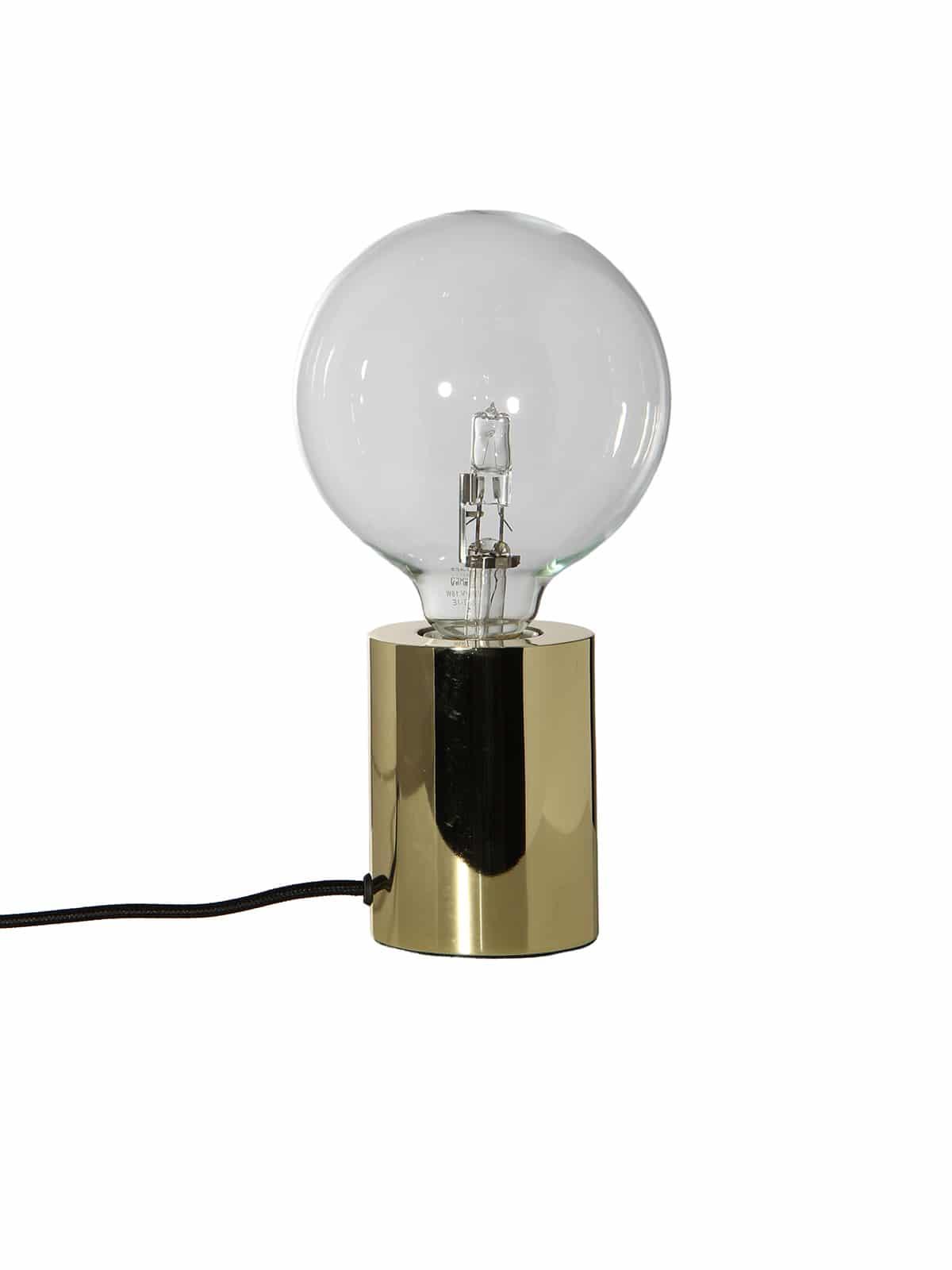 Bristol Tischlampe in Messing