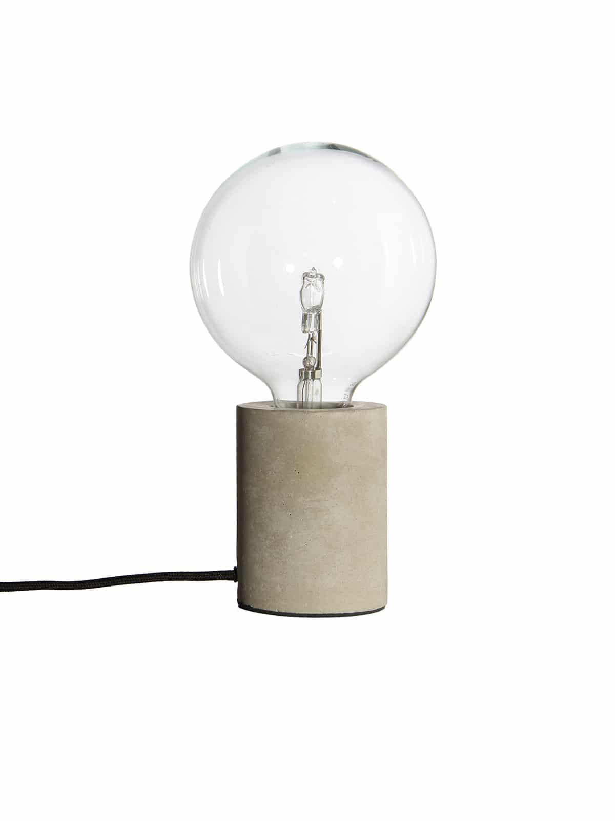 Bristol Tischlampe aus Beton