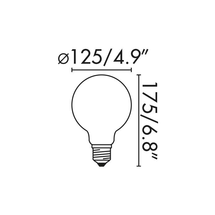 LED Bulb Globe Masse