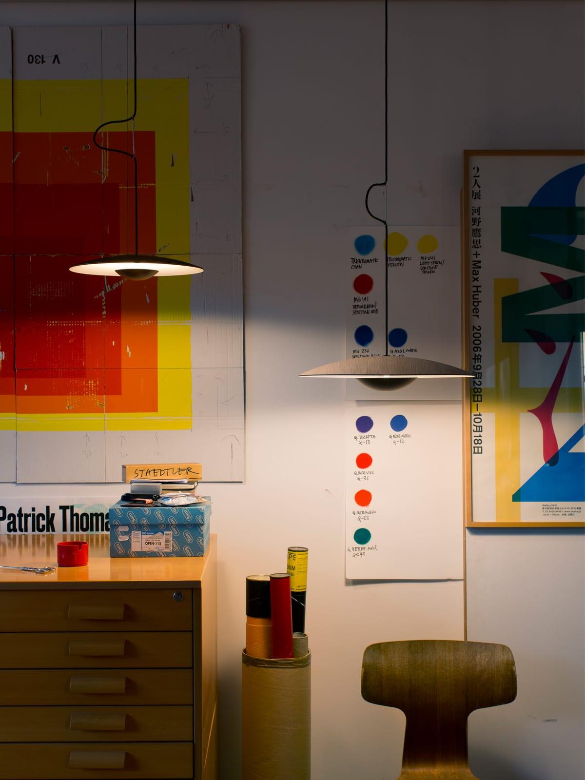 DesignOrt Blog: Spanische Designerleuchten Hängeleuchte Ginger im Raum